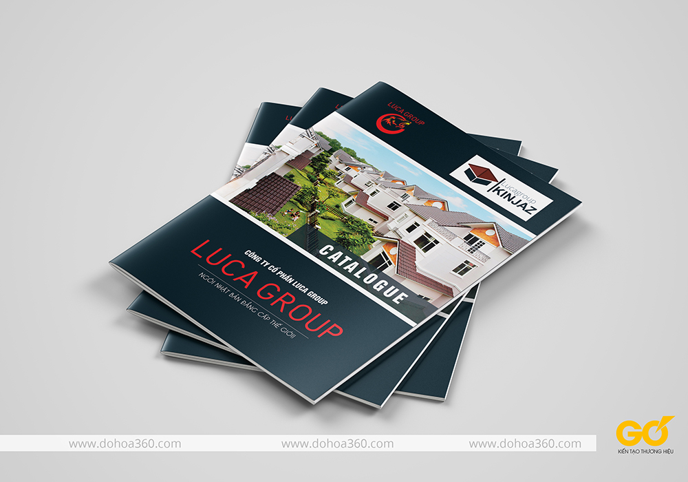 Thiết kế catalogue tại Vinh