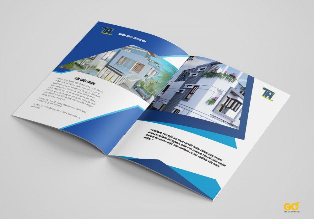 Thiết kế catalogue nhanh tại Vinh